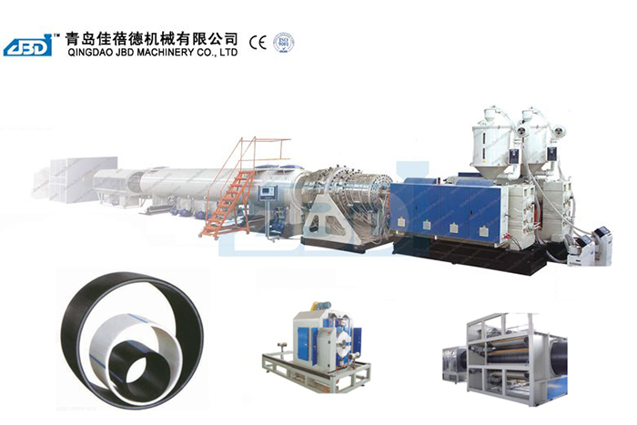 PE Water Supply Pipe/Gas Pipe/Oil Pipe/Heat Preservation Pipe Production Line