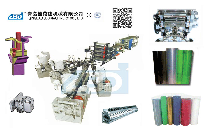 PE, PP, ABS, PS, PMMA, ASA, HIPS Mono or Multi Layer Sheet Production Line